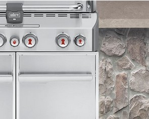 7160001 Weber Summit S-460 Outdoor Gas Grill - Liquid Propane - Stainless Steel