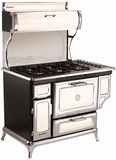 "720000GIVY Heartland 48"" Classic Gas Range - Ivory"