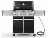 7271001 Weber Summit E-470 Natural Gas Grill - Black
