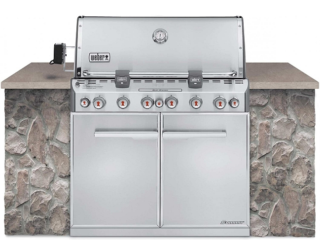 weber summit s660 outdoor gas grill natural gas stainless steel