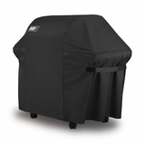 7107 Weber Grill Cover with Storage Bag for Genesis 300 Series - Black