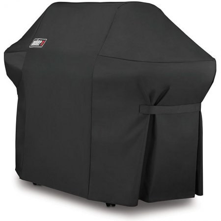 7108 Weber Grill Cover with Storage Bag for Summit 400 Series - Black