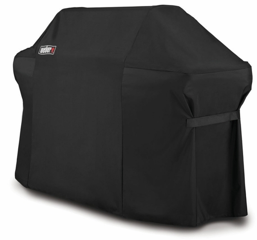 7109 Weber Grill Cover with Storage Bag for Summit 600 Series - Black