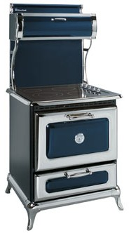 "8210CD0CBL Heartland 30"" Classic Electric Range with 4 High Performance Ribbon Burners - Cobalt"