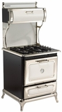 """920000GWHT Heartland 30"""" Range with 4 Sealed Burner Cooktop - Natural Gas - White"""