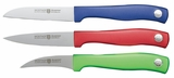 9352C Wusthof Silverpoint II 3-Piece Multi-Color Paring Set