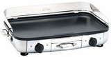"""99014GT All-Clad 20"""" x 13"""" Electric Griddle with Two Independent Adjustable Thermostats - Stainless Steel"""