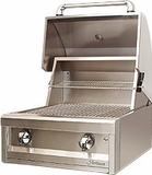 """AAEP26NG Artisan 26"""" American Eagle Series Natural Gas Grill with 2 Stainless Steel U-Burners and Push Button Ignition - Stainless Steel"""