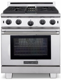 """ARROB-430N American Range Performer 30""""  All Gas Range with (4) Open Burners & 30"""" Convection Oven - Natural Gas - Stainless Steel"""