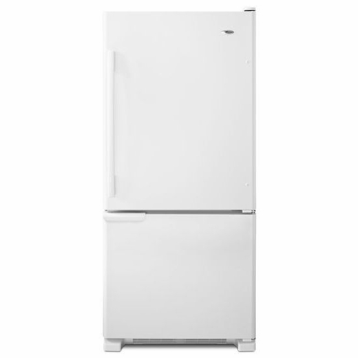 ABB1921BRB Amana 18.5 cu. ft. Bottom-Freezer Refrigerator with ENERGY STAR Qualification - Black