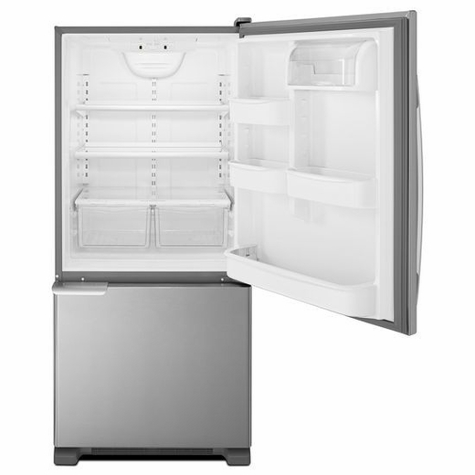ABB1921BRM Amana 18.5 cu. ft. Bottom-Freezer Refrigerator with ENERGY STAR Qualification - Stainless Steel
