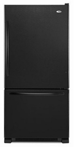 ABB1924BRB Amana 18.5 cu. ft. Bottom-Freezer Refrigerator with Greater Efficiency - Black