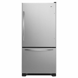 ABB1924BRM Amana 18.5 cu. ft. Bottom-Freezer Refrigerator with Greater Efficiency - Stainless Steel