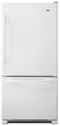 ABB1924BRW Amana 18.5 cu. ft. Bottom-Freezer Refrigerator with Greater Efficiency - White