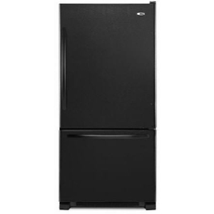 ABB2224BRB Amana 22 cu. ft. Bottom Freezer Refrigerator - Black