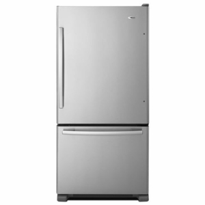 ABB2224BRM Amana 22 cu. ft. Bottom Freezer Refrigerator - Stainless Steel