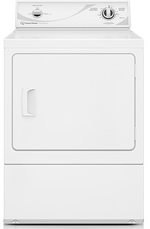 ADE3SRGS173TW01 Speed Queen Electric Dryer with Commercial Steel Cylinder - White