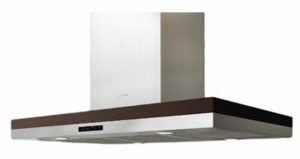 "ADLE42BSX Zephyr 42""  Island Mount Chimney Range Hood with Blower Options - Stainless Steel"