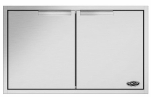 "ADN120x30 DCS 30"" Outdoor Access Door Storage - Stainless Steel"