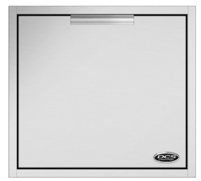 """ADR224 DCS 24"""" Outdoor Access Drawer Storage - Stainless Steel"""