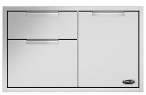 """ADR236 DCS 36"""" Outdoor Access Drawer Storage - Stainless Steel"""