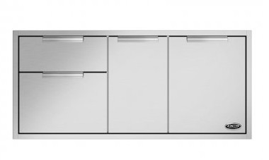 "ADR248 DCS 48"" Outdoor Access Drawer Storage - Stainless Steel"