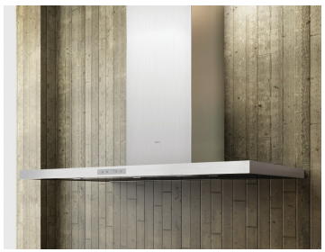"""ADUM90BSX Zephyr 36"""" Duo Wall Hood with Clean Air Function - Stainless Steel"""