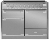 "AEL48INSS AGA 48"" Elise Induction 3 Oven Range with 5 Burners and True European Convection - Stainless Steel"
