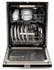 """AELTTDWBLK AGA 24"""" Elise Fully Integrated Tall Tub Dishwasher with Smartsoil Sensor and Wave-Touch Controls - Gloss Black"""