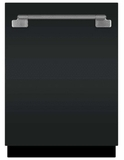 "AELTTDWMBL AGA 24"" Elise Fully Integrated Tall Tub Dishwasher with Smartsoil Sensor and Wave-Touch Controls - Matte Black"