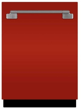 "AELTTDWSCR AGA 24"" Elise Fully Integrated Tall Tub Dishwasher with Smartsoil Sensor and Wave-Touch Controls - Scarlet"