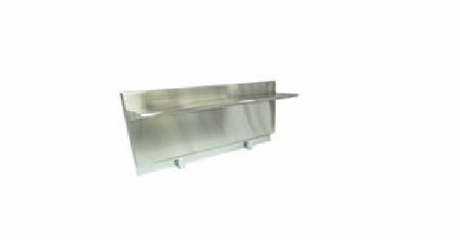 AERB48D24 Dacor 24-Inch High Backguard with Shelf - Stainless Steel