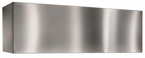"AEWP28482SB Best 48"" Optional Decorative Soffit Flue Extension for the WP28 Range Hood"