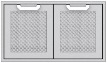 """AGLP36 Hestan 36"""" Double Sealed Pantry Storage Drawers - Stainless Steel"""