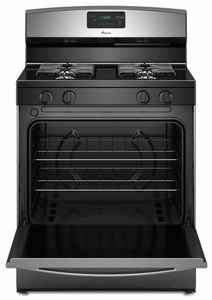AGR5330BAS Amana 5.1 cu. ft. Gas Oven Range with Sealed Gas Burners - Stainless Steel