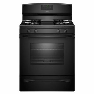 AGR5630BDB Amana 5.0 cu. ft. Gas Range with Easy Touch Electronic Controls - Black