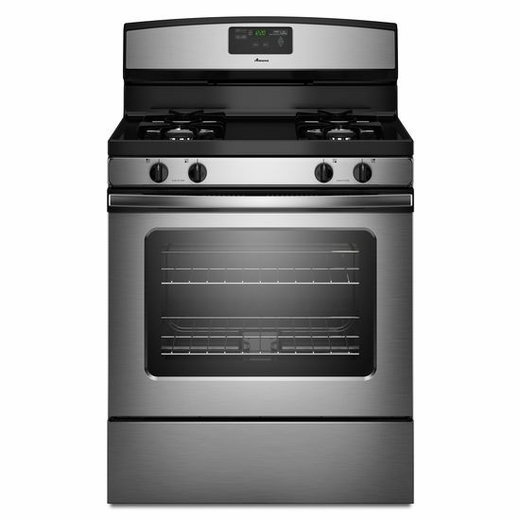 AGR5630BDS Amana 5.0 cu. ft. Gas Range with Easy Touch Electronic Controls - Stainless Steel
