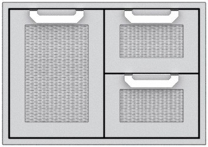 """AGSDR36 Hestan 36"""" Double Drawer and Storage Door Combination  - Stainless Steel"""