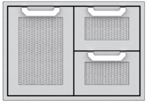"""AGSDR42 Hestan 42"""" Double Drawer and Storage Door Combination  - Stainless Steel"""