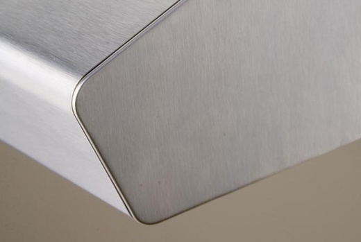 """AK1200BS Zephyr 30"""" Breeze 2 Under Cabinet Range Hood with 175-400 CFM Blower and Aluminum Filters - Stainless Steel"""