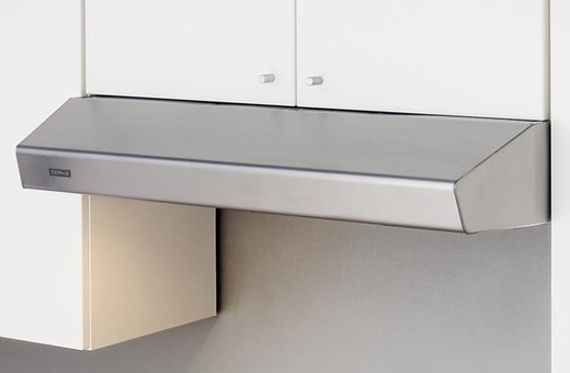 """AK1236BS Zephyr 36"""" Breeze 2 Under Cabinet Range Hood with 175-400 CFM Blower and Aluminum Filters - Stainless Steel"""