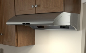 "AK2100BS Zephyr 30"" Power Typhoon Under Cabinet Range Hood with 850 CFM Blower - Stainless Steel"