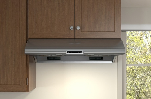 "AK2142BS Zephyr 42"" Power Typhoon Under Cabinet Range Hood with 850 CFM Blower - Stainless Steel"