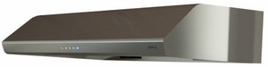 "AK2536BS Zephyr Hurricane 36"" Under Cabinet Hood with 695 CFM Blower - Stainless Steel"