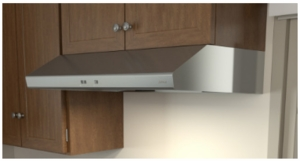 """AK6536BS Zephyr 36"""" Under Cabinet Cyclone Range Hood with Mechanical Slide Controls and 600 CFM Internal Blower - Stainless Steel"""