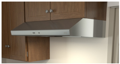 "AK6542BS Zephyr 42"" Under Cabinet Range Hood with Mechanical Slide Controls and 600 CFM Internal Blower - Stainless Steel"