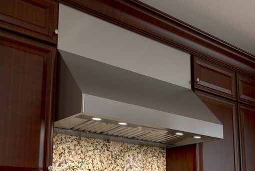 """AK7554BS Zephyr Tempest II 54"""" Professional Wall Hood with 200-650CFM Blower and Electric Touch Controls - Stainless Steel"""