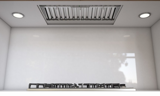 """AK9234AS290 Zephyr Monsoon I One Piece 34"""" 290 CFM Hood Liner with Horizontal Ducting Option - Stainless Steel"""