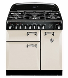"""ALEG36DFIVY AGA 36"""" Legacy Dual Fuel Range with Broiling Oven - Ivory"""