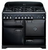 "ALEG44DFBLK AGA 44"" Legacy Dual Fuel Range with Convection Oven - Black"